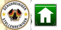 Schuhreiniger - Stollenreiniger - Fußabtreter - Schuhputzer -Logo